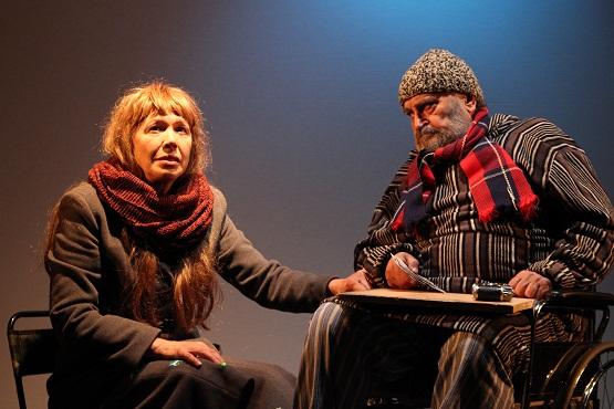 Victoria Cociaş şi Ion Haiduc, în Poker Face