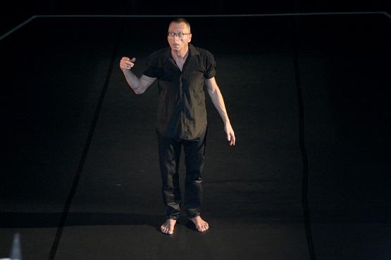 """Coregraful Gigi Căciuleanu, autorul spectacolului """"Mozart Steps"""""""