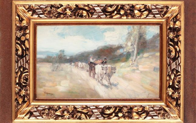 Întoarcerea de la târg (1903-1904), de Nicolae Grigorescu