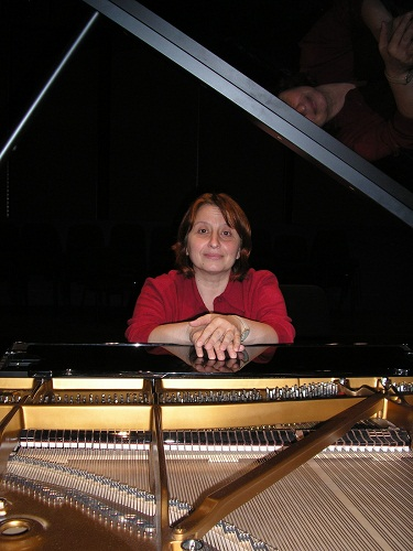 Pianista Dana Borşan