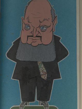 Dumitru Capoianu, caricatura