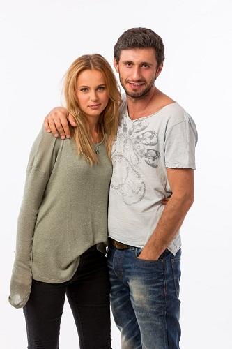 Dragoş Bucur şi Adina Şteţcu, în Alt Love Building