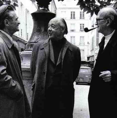 Emil Cioran, Eugen Ionescu, Mircea Eliade, 1986