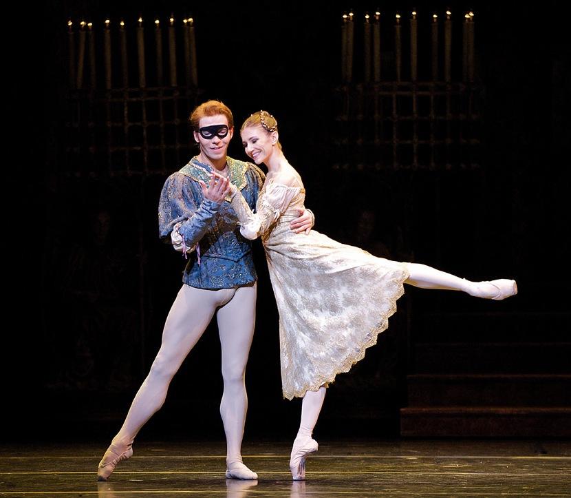 Alina Cojocaru si Johan Kobborg, in Romeo si Julieta