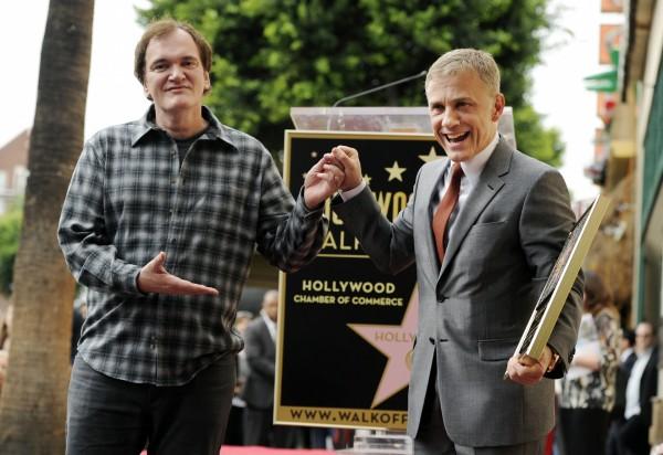 Quentin Tarantino şi Christoph Waltz