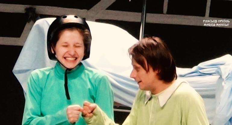 Cristina Casian și Marius Manole în Oscar și Tanti Roz, Teatrul Bulandra