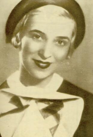 Leny Caler, in Tessa, pe scena Teatrului Maria, 1935