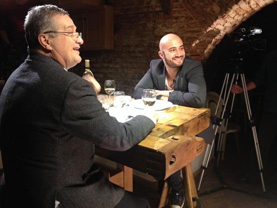 Mircea Dinescu si Mihai Bendeac