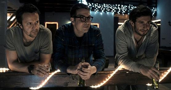 Dorian Boguţă, Alexandru Papadopol şi Dragoş Bucur, în Alt Love Building