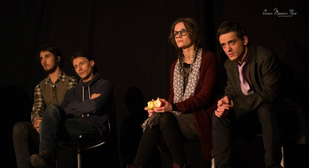 Anghel Damian, Marius Manole, Lia Bugnar și Andrei Runcanu. Foto: Oana Monica Nae