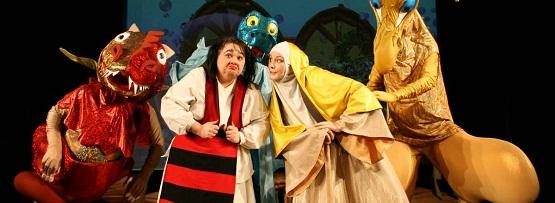 Fata babei şi fata moşteagului, Teatrul Ţăndărică