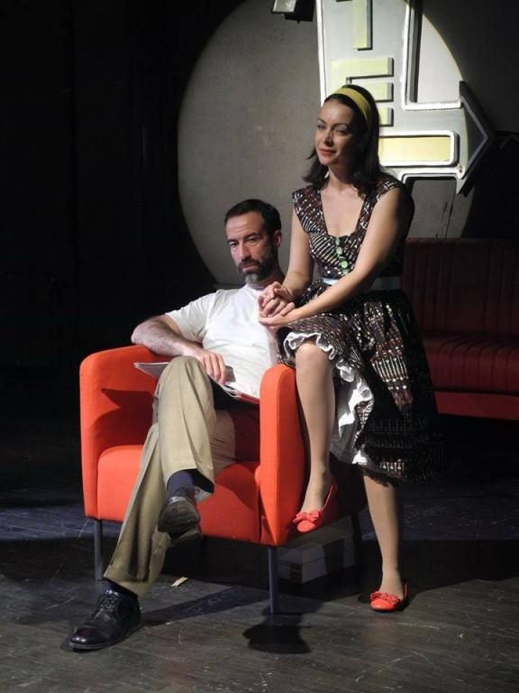 """Serban Pavlu, alături de Delia Nartea, în """"Cum am învățat să conduc"""", Teatrul de Comedie"""