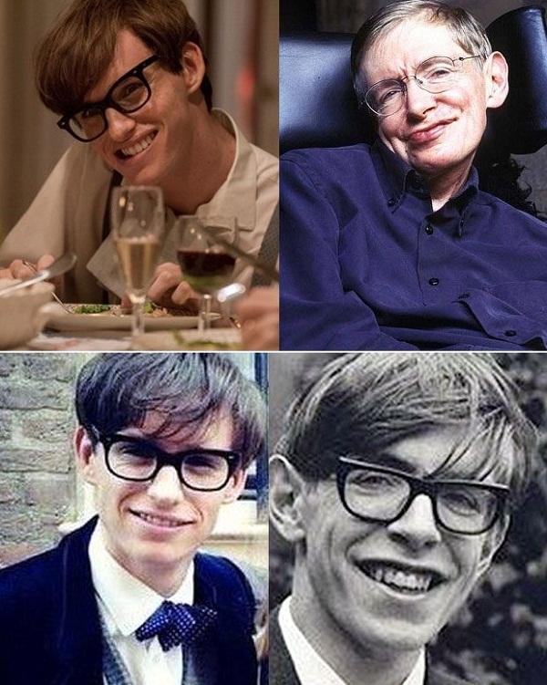 Eddie Redmayne vs Stephen Hawking