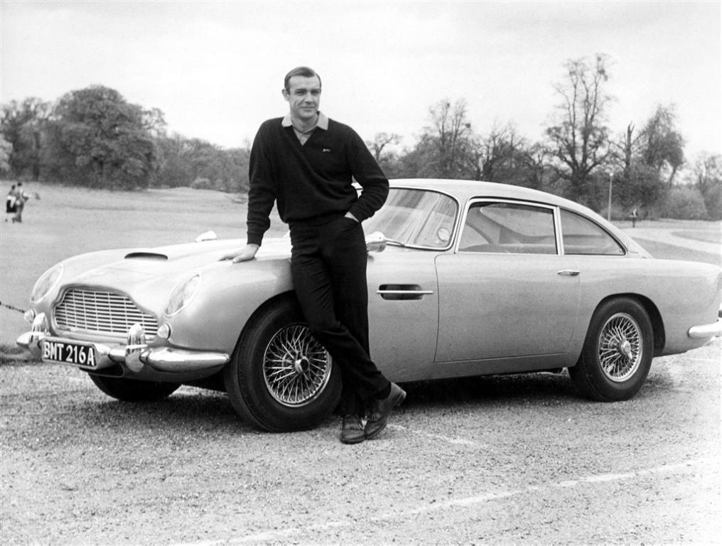 Aston Martin DB5, Goldfinger (1964) Thunderball (1965)