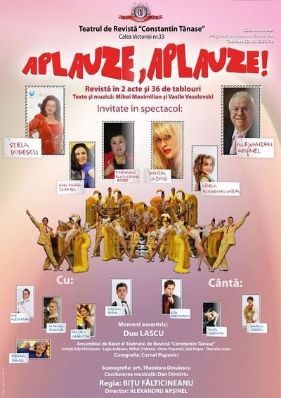 Aplauze, aplauze!, Teatrul de Revista Constantin Tănase