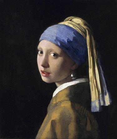 Fata cu un cercel de perlă -  Johannes Vermeer