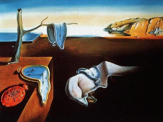 Persistenta memoriei - Salvador Dali