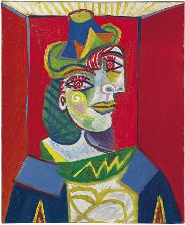 Picasso - Buste de femme (Femme a la resille)