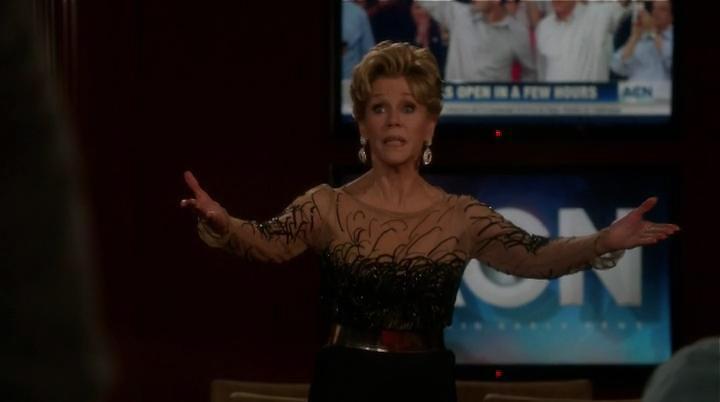 Jane Fonda, în The Newsroom