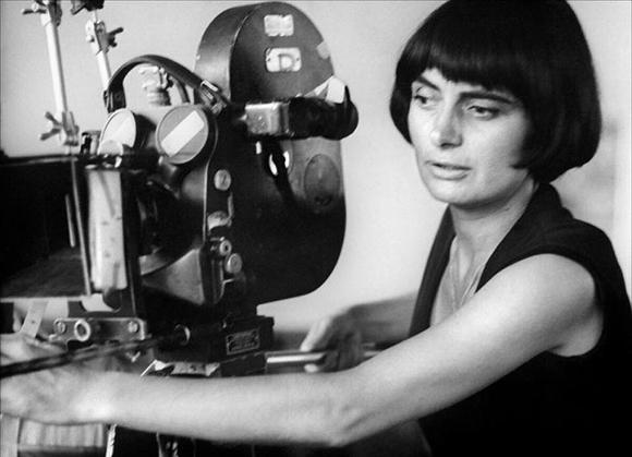 Agnes Varda, in tinerete