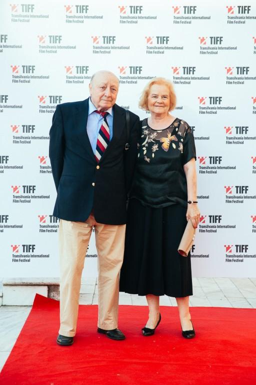 Marin Moraru, alături de soţia lui, Lucia Moraru