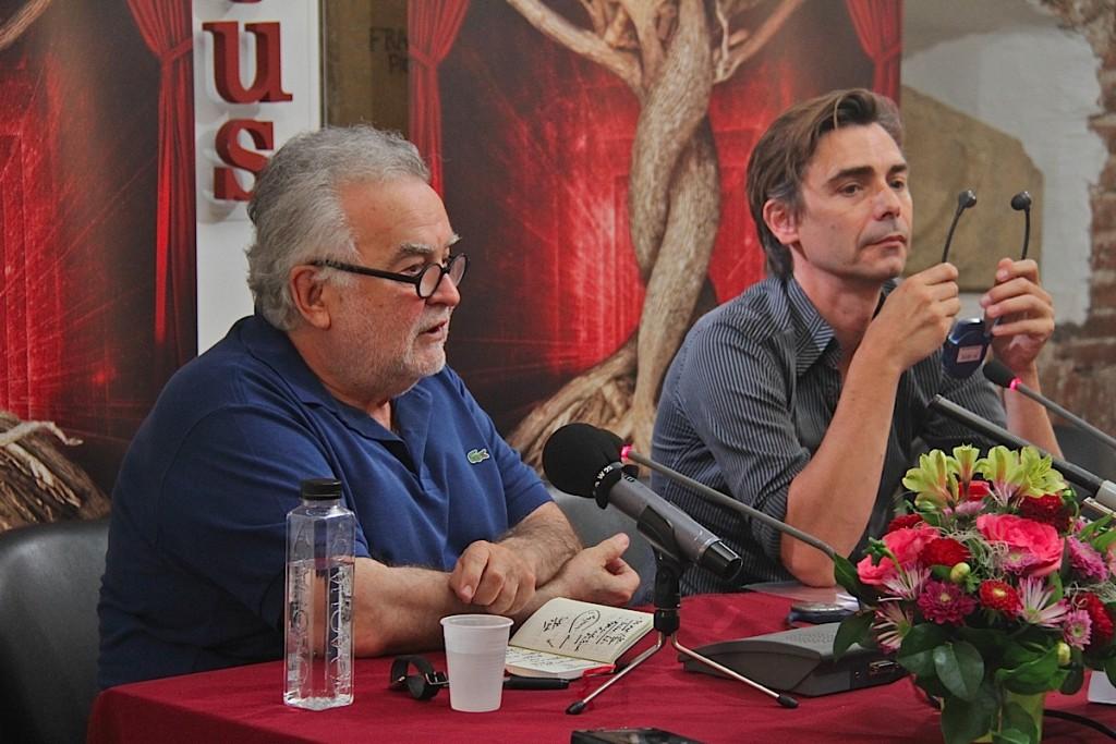 George Banu, alături de Emmanuel Demarcy-Mota
