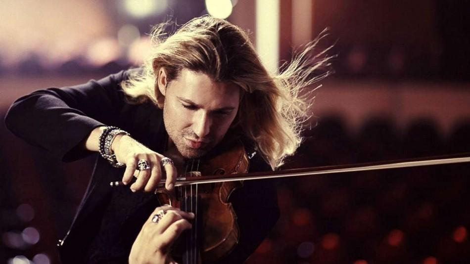 Violonistul David Garrett,