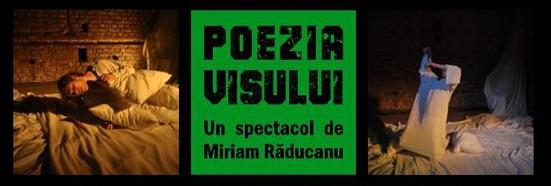 POEZIA VISULUI. Versuri de Emil Botta.. Un spectacol de Miriam Răducanu