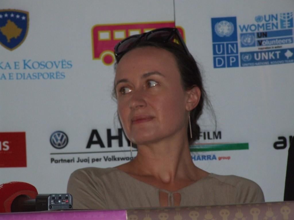 Regizoarea poloneză Agnieszka Zwiefka