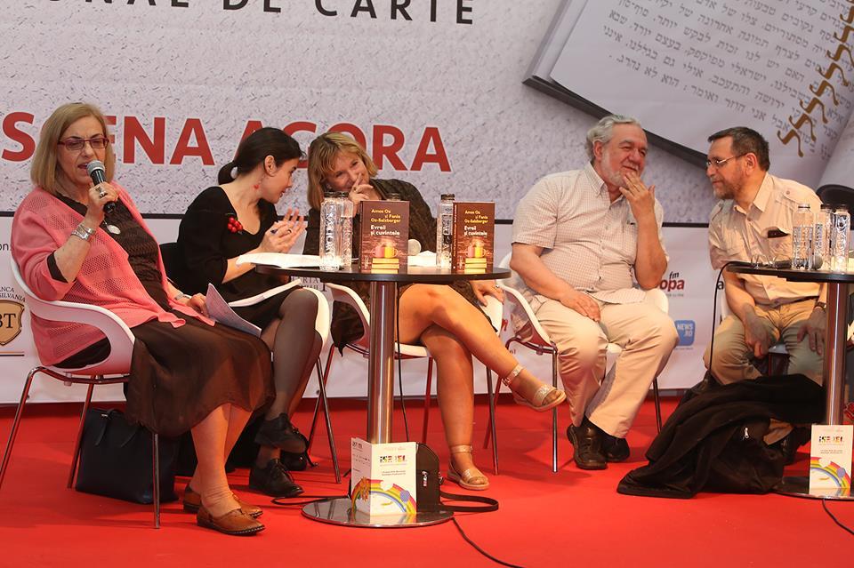 """Întâlnire cu istoricul Fania Oz-Salzberger, coautoare alături de Amos Oz a bestsellerului """"Evreii şi cuvintele"""" (Editura Humanitas Fiction)"""