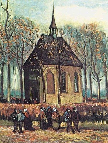 Congregation Leaving the Reformed Church in Nuenen'