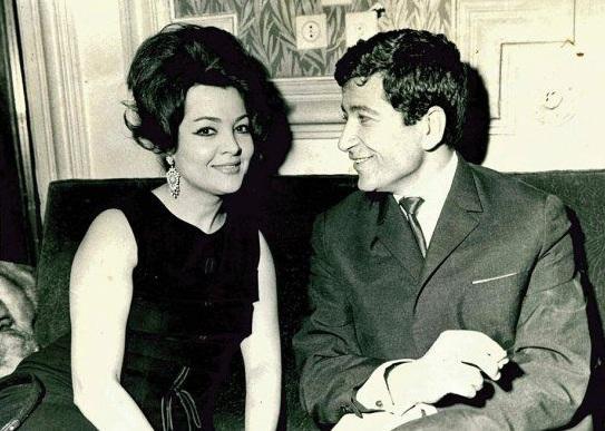 Ion Dichiseanu și Sara Montiel