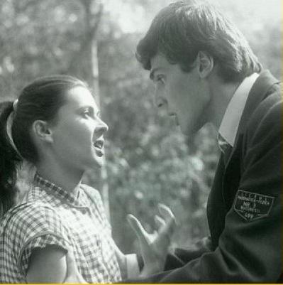 Teodora Mareş şi Adrian Păduraru, in Declaratie de dragoste (1985)