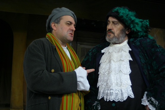 Sorin Cocis si Ion Haiduc in Sotul pacalit