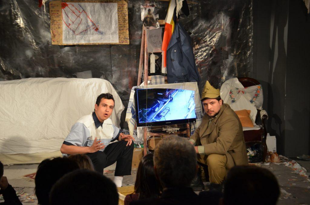 """Teatrul Arte dell'Anima, """"O noapte furtunoasă"""""""