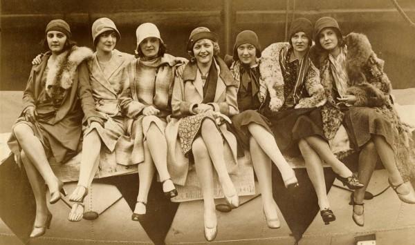 "Finalistele ""Miss România"". 1929"