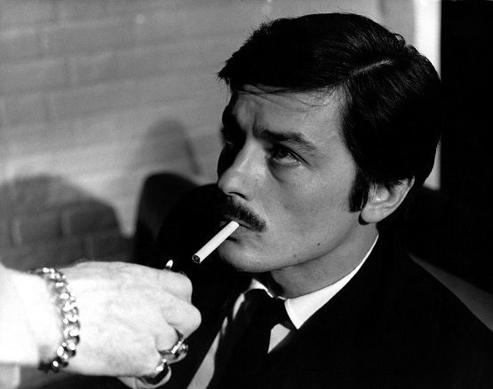 "Alain Delon, in ""Le Cercle Rouge"""