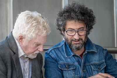 Povestea iubirii_Derek Jacobi si Radu Mihaileanu pe platourile de filmare