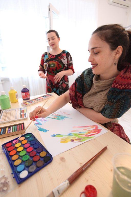 Terapia prin pictura