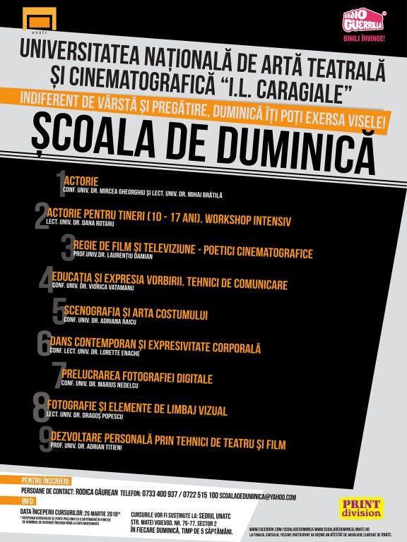 SCOALA DE DUMINICA